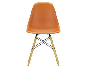 Židle Eames DSW, rusty orange