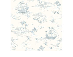 Tapeta Treasure Island 7450