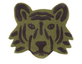 Koberec Tiger Head, green