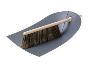 Smetáček a lopatka Dustpan & Broom, dark grey