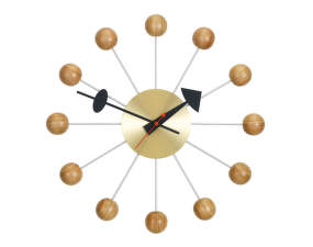 Hodiny Ball Clock, cherry