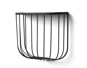 Police FUWL Cage Shelf, black / dark ash