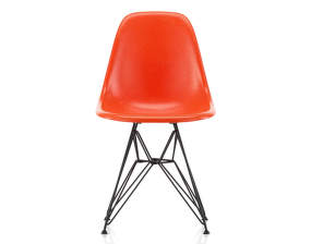 Židle Eames Fiberglass DSR, red orange