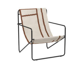 Křeslo Desert Lounge Chair, black/shape