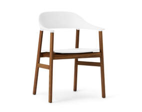 Židle Herit Armchair Smoked Oak, white