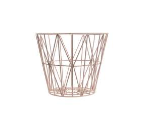 Koš Wire Basket small, rose