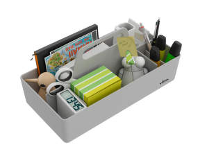 Organizér Vitra Toolbox, warm grey