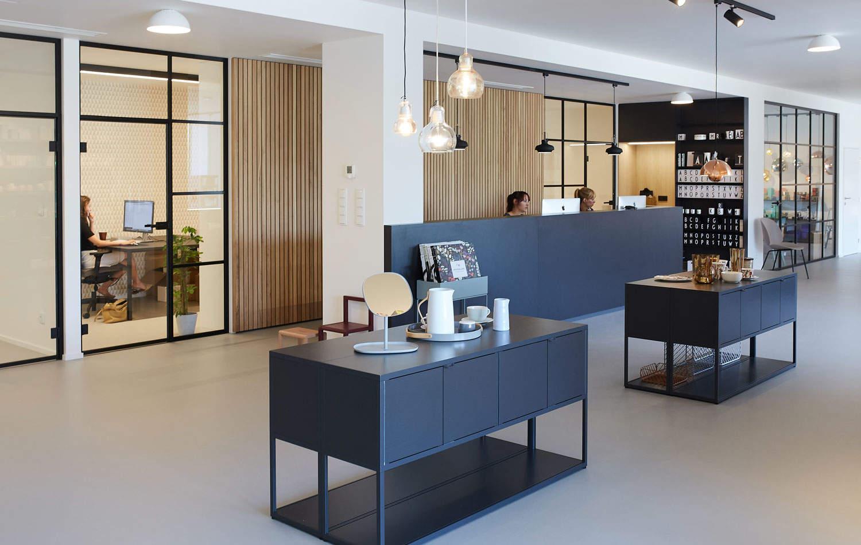 Showroom a predajňa DesignVille Brno, Netroufalky 5