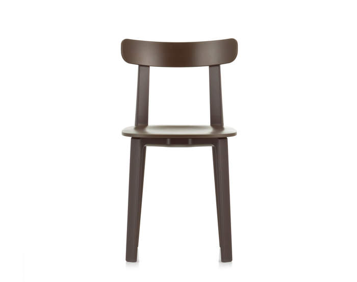 Židle Vitra All Plastic Chair, brown