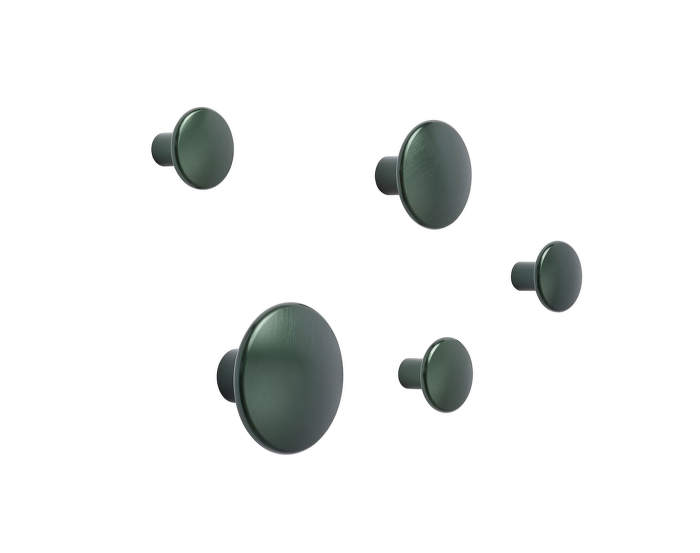 Dots-Metal-set-dark-green
