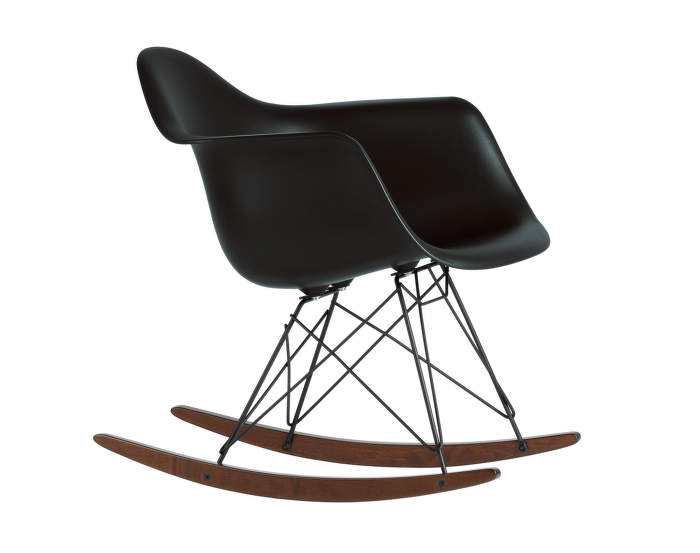 Houpací křeslo Vitra Eames Chair RAR, dark maple