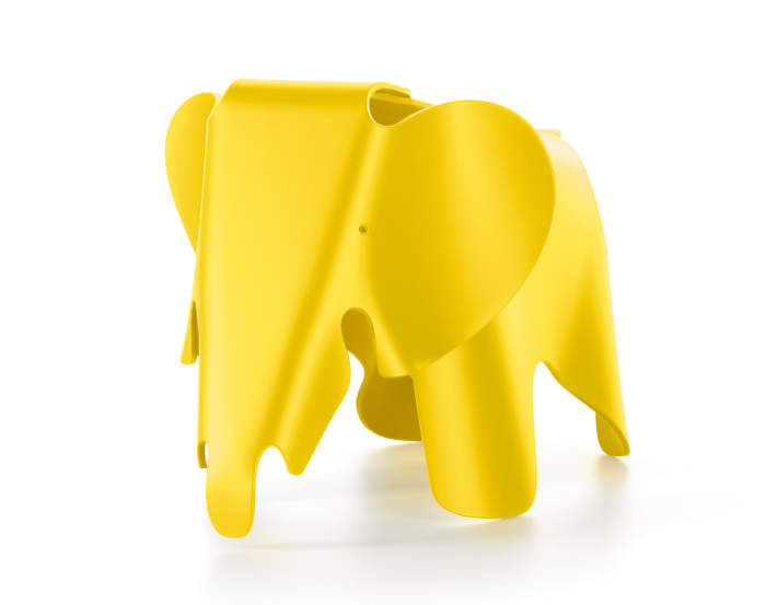 Slon Eames Elephant, buttercup yellow