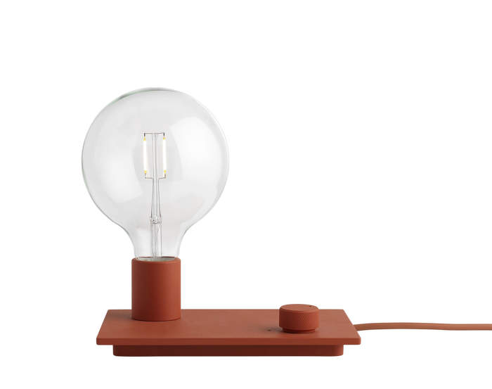 Control Table Lamp, red
