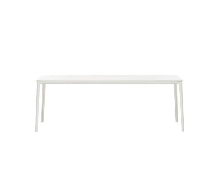 Plate-dining-table-90x200-white-white