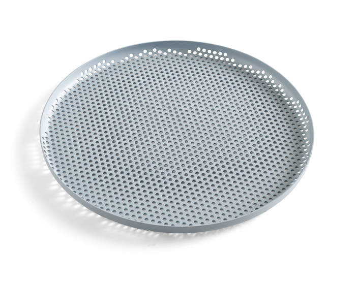 Tác Perforated Tray L, dusty blue