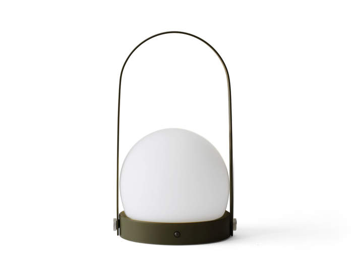 Carrie LED lamp, olive
