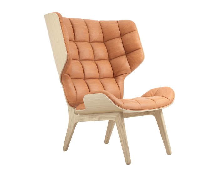Mammoth Chair, natural oak / Dunes Leather - Cognac 21000