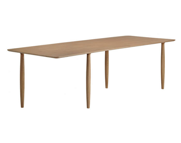 Oku Dining Table L250, smoked oak
