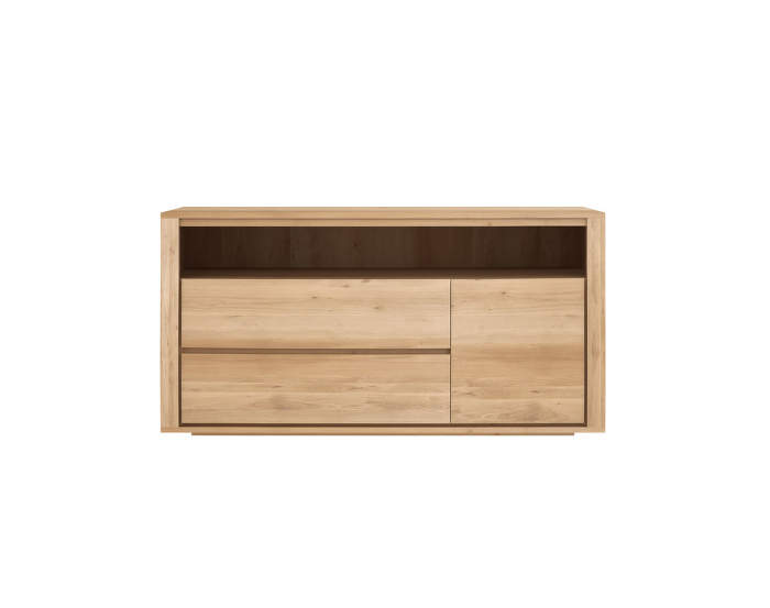 Shadow chest of drawers, oak