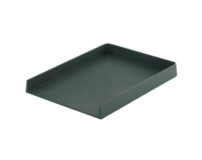 Arrange Desktop Tray, 32 x 25 cm, dark green