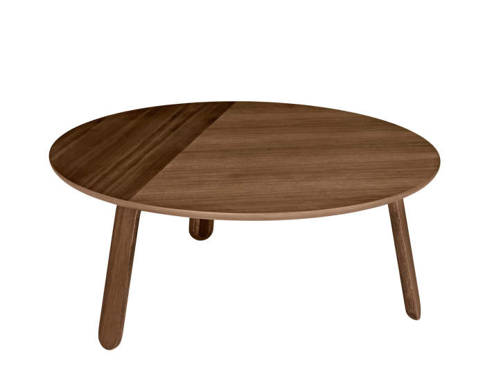 Stolek Paper Table L, walnut