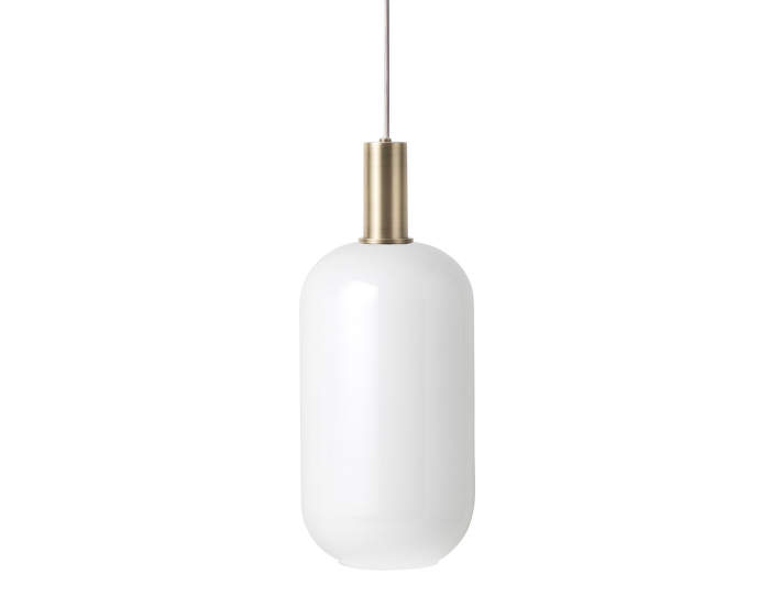 Lampa Collect Low, brass/opal tall