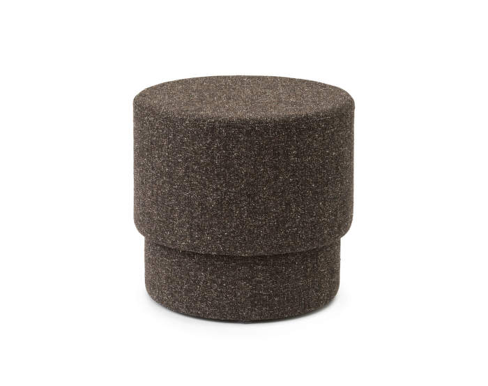Pouf Silo small, coffee grounds