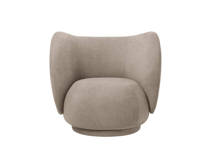 Lounge-chair-Rico-boucle-sand
