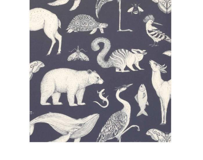 Tapeta Katie Scott Animals, blue