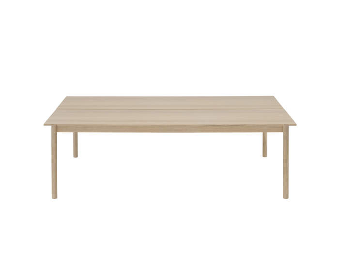 Linear System Table, Oak Veneer/Oak