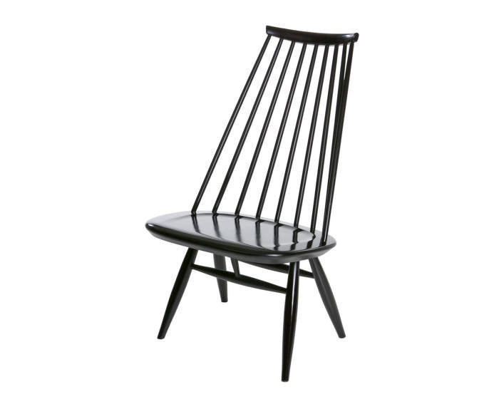 Křeslo Artek Mademoiselle Lounge Chair, black