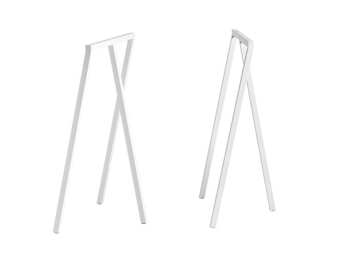 Loop Stand Frame High, white