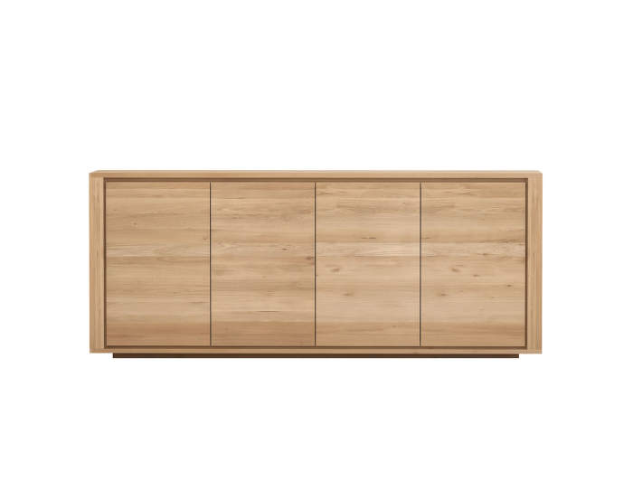 Shadow sideboard, 4 doors, oak