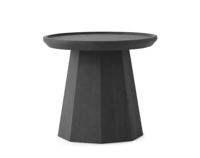 Pine Table Small Dark Grey