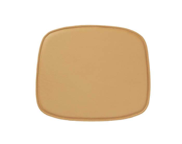 Seat Cushion Form Leather, Camel