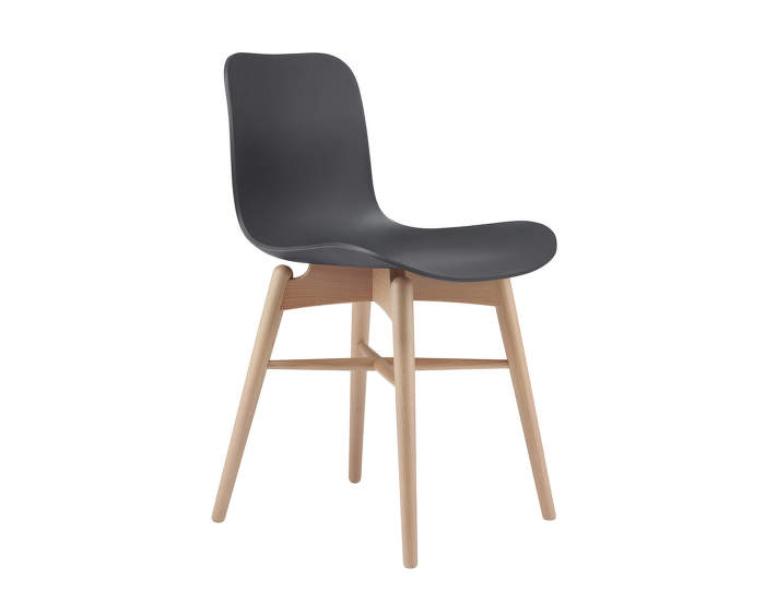 Langue Chair  Wood, natural /anthracite black
