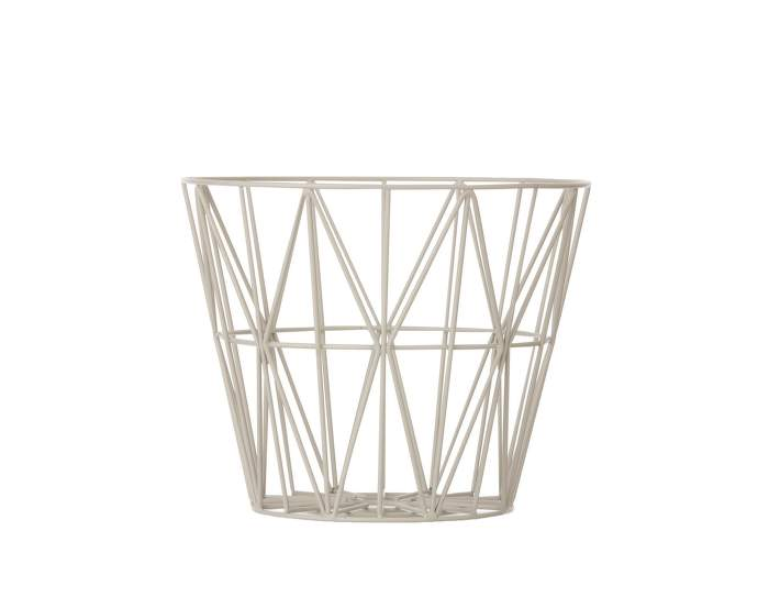 Wire Basket Small, Grey