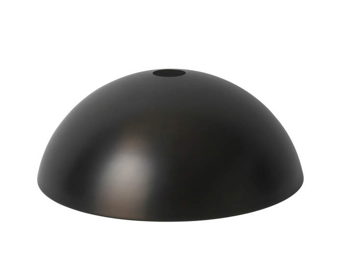 Dome Shade, black brass
