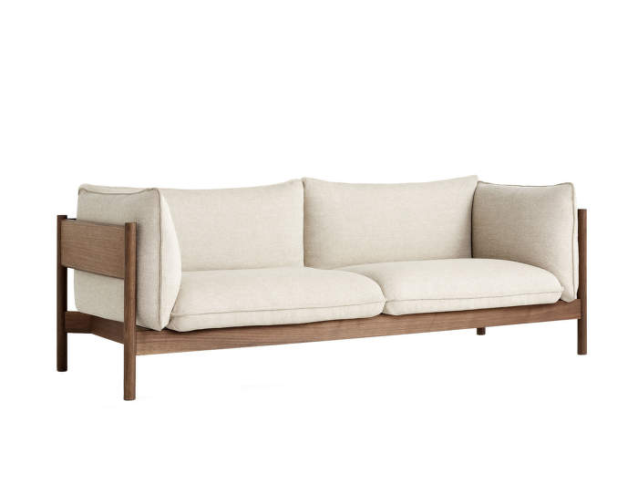 Arbour 3 seater, oiled solid walnut / Hallingdal 220