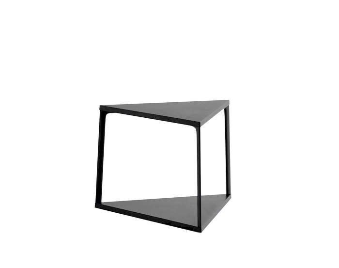 Eiffel Side Table Triangle, ink black