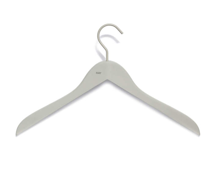 Ramínka Soft Coat Hanger Slim, set 4 ks, grey