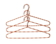Ramínko Hay Cord Hanger Stripe, powder, set 3ks