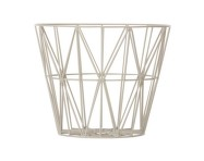 Koš Wire Basket Large, Grey