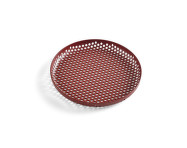 Tác Perforated Tray S, bordeaux