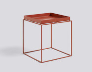 Stolek Tray Table 40x40, red