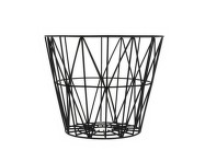 Koš Wire Basket medium, black