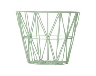 Koš Wire Basket Large, Mint