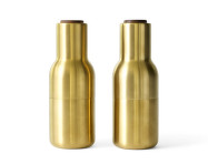 Mlýnky na sůl a pepř Bottle, set 2ks, brushed brass