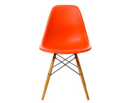 Židle Eames DSW, poppy red