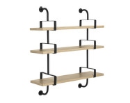 Police Démon Shelf 2, 95cm, 3 shelves, oak